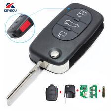 Uncut for Audi Allroad Quattro 2001-2005 Remote Key Fob FCC ID: MYT8Z0837231