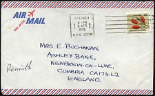 Australia 1976 Commercial Airmail Cover To UK #C42808
