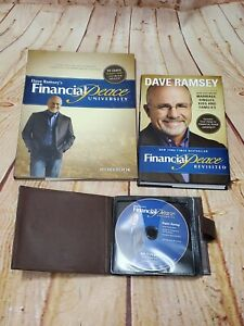 Dave Ramsey's Financial Peace University FPU Home Study 16 CDs Workbook & Book