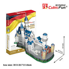 New Neuschwanstein Castle Germany 3D Model Jigsaw Puzzle 98 Pieces MC062H