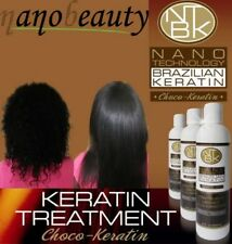 NANOBEAUTY CHOCO BRAZILIAN KERATIN TREATMENT BLOW DRY HAIR STRAIGHTENING 100ML