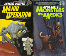 4 (medical) SF Novels by James White...DEL REY...Monsters and Medics etc...vg++