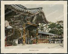 Japan Frauen Kind Tracht Mode Tokio Shiba-Park Taikuns-Tempel Nippon Asien 1897