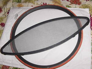 "CROWNLINE PROLINE CROWNLINE  BOAT WINDOW SCREEN & RUBBER RING 14-7/8""X 4-5/8"""
