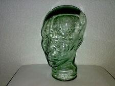 Glaskopf Kopf Glas Kopfhörerhalter Hohlkopf Transparent Gläserner Bürger * LOOK