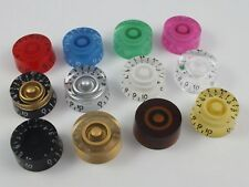 SPEED DIAL KNOBS for Gibson Epiphone style electric guitars 12 Colours