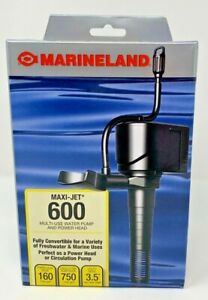 Marineland Maxi-Jet 600 Multi-Use Water Pump and Powerhead 160/750 Free Ship!