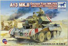 Bronco 1:35 WWII A13 Mk.II Cruiser Tank MK.IVa Early/Late production #CB35029