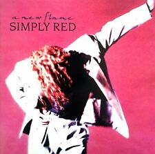 Simply Red - A New Flame CD 1989 WEA Free Shipping In Canada