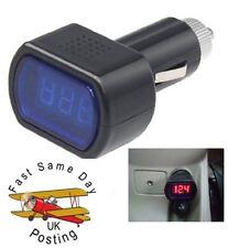 LED Auto Batteria Elettrica Accendisigari Voltmetro Tensione Misuratore Tester