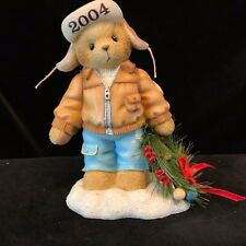 Cherished Teddies Knut #118385 - Decorating The Holidays With Happiness