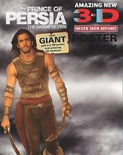 """Disney 3d Poster Book: """"Prince of Persia"""" Poster Book, , New Book"""