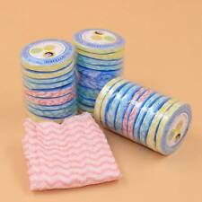 3Pcs Wood Fiber Nonwoven Fabric Compressed Towel Washcloth Outdoors Towels a