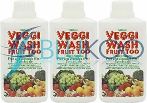 Veggi-Wash Concentrate - 500ml (Pack of 3)