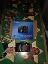 Canon PowerShot SX130 IS 12.1MP Digital Camera Black PC1562  TESTED