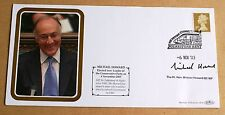 ELECTED LEADER OF CONSERVATIVE PARTY 2003 BENHAM COVER SIGNED BY MICHAEL HOWARD