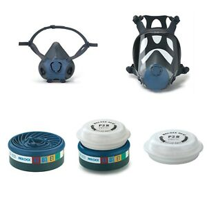 Moldex 7000 & 9000 Series Face Mask Body, Filters for series 7000 & 9000 Mask