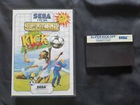 SUPER KICK OFF Sega Master System Game