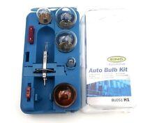 H1 Spare Headlight bulb Kit - High Quality Ring Contains 6 bulbs & Fuses (BK051)