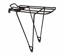 Unbranded Rear Pannier Rack - Cycling - Black - No Bolts
