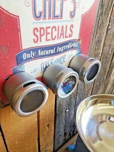 Magnetische Aufbewahrungsbox Gewürze Küche Kühlschrank Dose Metall Büroklammern