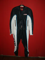Vintage Dainese Cafe Racer Motorcycle Suit Two Piece Leather