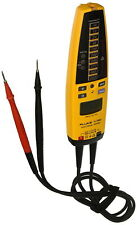 Fluke T+Pro Electrical Tester Backlit Lcd Display Industrial Auto Off Mode Best