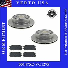 Rear Brake Rotors-Pad for Chevy Equinox,Pontiac Torrent ,Saturn Vue ,Suzuki XL-7