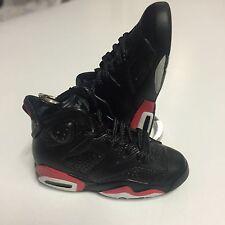 Nike Air Jordan AJ 6 Bred 3D Keychain Carmine Infrared Oreo Bred Olympic Black