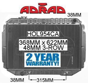 HOLDEN HQ HJ HX HZ 1970-1980 TORANA LH LX 1974-1978 V8 308 BRASS RADIATOR *ADRAD