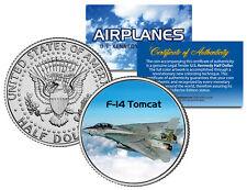 F-14 Tomcat * Airplane Series * Jfk Kennedy Half Dollar Us Colorized Coin