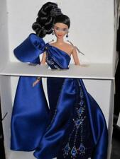 1996 SAPPHIRE SPLENDOR Miko Asian Barbie Doll by Bob Mackie 15523 + Sketch NRFB