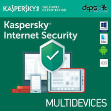 Kaspersky Internet Security 2019 3 Appareils 3 Pc | 1 an MAC ANDROID 2018 BE EU