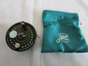 ABEL SPOOL for Fly Fishing Reel With Cortland 444 SL WF 5F/S Line & Teal Case