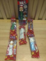 Christmas Pez Dispenser Lot #1 6 Sealed Various