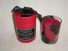 Partylite Forbidden Fruits - Cranberry Crush Jar - Retired