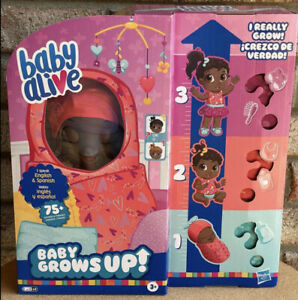 BABY ALIVE Baby Grows Up SURPRISE Sweet Blossom or Love Rose?? Growing Baby Doll