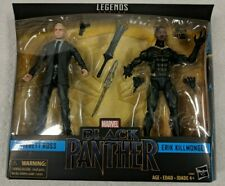 Black Panther Marvel Legends ERIK KILLMONGER & EVERETT ROSS Hasbro SEALED 2 pack