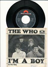 """7"""" - The Who - I'm A Boy / In The City - Polydor 421051 - DE 1966"""