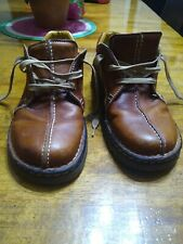 Dr Doc Martens England Mens Shoe Size Us 9 Brown Leather Lace Up Casual Oxford