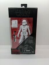 "Star Wars Black Series First Order Snowtrooper Officer 6"" inch Figure TRU Exclus"