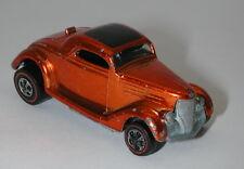 Redline Hotwheels Orange 1969 Classic 36 Ford Coupe  oc12400