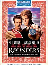 Rounders DVD 2004 Movie Matt Damon Edward Norton Play the Cards you're Dealt