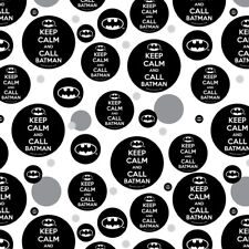 Batman Keep Calm and Call Premium Gift Wrap Wrapping Paper Roll