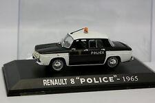 UH Presse 1/43 - Renault 8 Police 1965