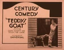 OLD MOVIE PHOTO Teddys Goat Us Lobby Card Teddy The Dog Charles Dorety 1921