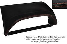 ORANGE STITCHING SPEEDO HOOD SKIN COVER FITS NISSAN X-TRAIL 01-04 PRE FACELIFT