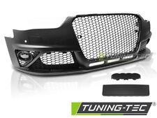 Paraurti Anteriore Tuning AUDI A4 B8 12 > 15 RS STYLE Fori PDC LAVAFARI griglia
