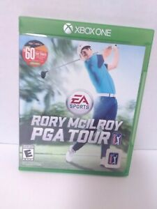 EA Sports Rory McIlroy PGA Tour (Microsoft Xbox One, 2015)  Game and Case Tested