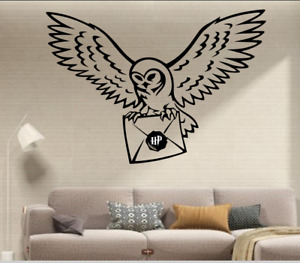 harry potter inspired stickers wall owl letter stickers art bedroom kitchen home